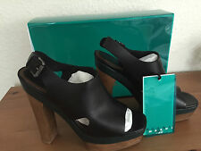 Marni at H&M Schuhe Plateau High Heels Leder Gr. 38 UK 5 US 7 NEU