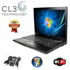 Dell Latitude Laptop E5400 Core 2 Duo WiFi DVD/CDRW Win 7 Pro Notebook + 4GB