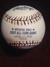RAWLINGS 2002 OFFICIAL ALL-STAR GAME BASEBALL MILWAUKEE NEW 7-7 tie NO MVP