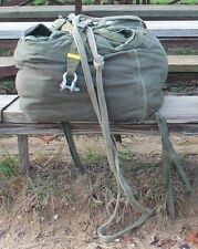 Airworthy G-14 Cargo Parachute, all Suspension/Static Lines, Clevises, & Bag