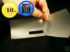 Hot Laminating Pouches with Barcode read Window 10 Mil 2-9/16 x 4-3/4 [100] No2