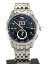 Citizen BT0000-58L Eco Drive Men's Watch Stainless Perpetual Calendar