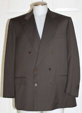 "BRIONI ""FLAMINIO"" SOFT WOOL BLAZER / JACKET / MEN SZ 42 C / DOUBLE BREASTED"