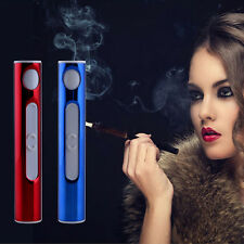 Female Mini USB Cigarette Cigar Electronic Arc Lighter Rechargeable Windproof