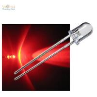 10 LED BLINKEND 5mm ROT FLASHING ALARM-DUMMY superhell