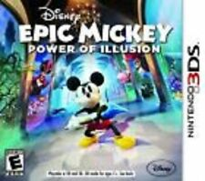 Epic Mickey Power of Illusion SEALED Nintendo 3DS 3 2 2DS