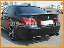 BMW #668 Jet Black AC Trunk Lip & AC Roof Spoiler 04-10 E60 528i 535i 550i 4Dr