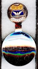 #536) SILVER PLATED TEA CADDY SPOON SALTBURN BY SEA SEASIDE RESORT YORKSHIRE UK
