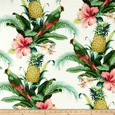 Beach Bounty Lush Green Outdoor Fabric by TOMMY BAHAMA, Tropical Outdoor Fabric