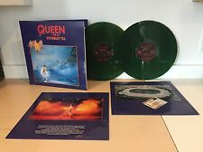 QUEEN -LIVE AT WEMBLEY 86 -NEW 2 LP COLORED VINYL SET -GATEFOLD W PRINTED SLEEVE