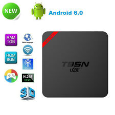 T95N Android 6.0 Quad Core S905X WIFI Smart TV Box Streaming Media Player 1G+8G