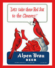 1946 World Series Poster - Cardinals vs Red Sox - 8x10 Color Photo
