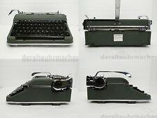vintage *OLYMPIA SM3* 1956 typewriter Germany in authentic wooden box Excellent