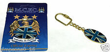 Manchester City Key Ring Retro Official Football Club Gifts