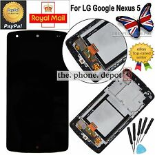 Touch Screen & LCD  Display Digitizer & Frame For LG D820 D821 Google Nexus 5 UK