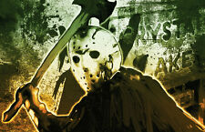 "Jason Voorhees Friday The 13th ""Crystal Lake Doom"" high quality 11 x 17 poster"