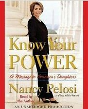 BOOK/AUDIOBOOK CD Nancy Pelosi Message to Daughters KNOW YOUR POWER