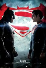 BATMAN V SUPERMAN: DAWN OF JUSTICE MOVIE POSTER DS