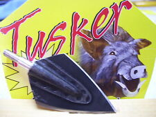 ** TUSKER BROADHEADS ** 6pack -150gr *STEALTH* SCREW ON *#NEW#
