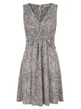 Banana Republic Issa London Collection Animal Print Ruched Jersey Dress 6