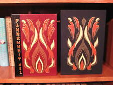 Fahrenheit 451  Ray Bradbury   Signed Limited Leather Slipcased   Easton Press