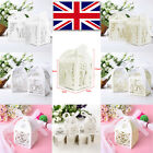 Luxury Lovely Wedding Party Sweets Candy Cake Gift Favour Boxes With Ribbon UK