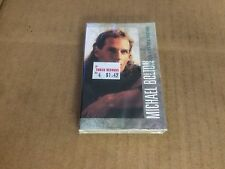 MICHAEL BOLTON GEORGIA ON MY MIND FACTORY SEALED CASSETTE SINGLE