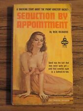 Seduction By Appointment - Rick Richards - Midwood - SLEAZE PULP SEX PB