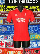 4/5 Liverpool adults L 1987 retro adidas football shirt jersey trikot soccer