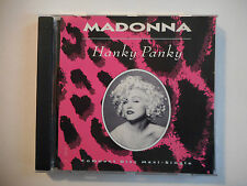 "MADONNA : HANKY PANKY ( REMIX 12"" ) ♦ CD SINGLE RARE PORT GRATUIT ♦"