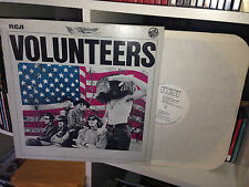 JEFFERSON AIRPLANE VOLUNTEERS RARE LP 1981 RCA PROMO ITALY
