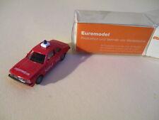 Euro Modell H0 Opel Ascona Feuerwehr, unbespielt im OK !!!