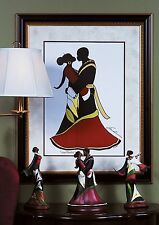"""African American Black Art Print """"SOUL MATES"""" by Andre Thompson"""
