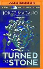 Jaime Azcarate: Turned to Stone by Jorge Magano (2015, MP3 CD, Unabridged)