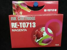 Compatible T713 magenta red printer ink cartridge for SX205, SX210,SX215,SX400