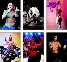 Iggy Pop The Idiota 6 Scheda Set di cartoline