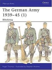 The German Army 1939-45 (1): Blitzkrieg (Men-at-Arms)-ExLibrary