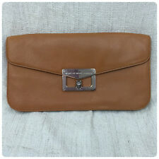 Marc by Marc Jacobs Oversized Envelope Bianca Clutch in Caramel New with Tags