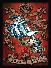 Tattoo UL13 Ink, Metal Tattoo Gun, Immortal Style, Gift Novelty Fridge Magnet
