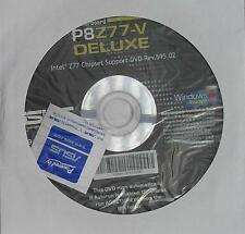 original asus Mainboard Treiber CD DVD P8Z77-V deluxe Windows XP 7 Vista Sticker