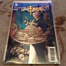 DC  BAtman and Robin issue 23.1 Two face 3D cover - Like near Mint
