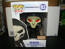 FUNKO POP OVERWATCH REAPER BOXLUNCH EXCLUSIVE VHTF-FREE SHIP
