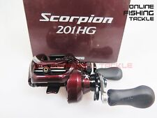 NEW SHIMANO Scorpion 201HG Left Baitcasting Reel 201 HG 3-5 DAY US AUS EXPRESS