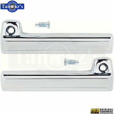 78-85 A/G/F Body T-Top Roof Glass Hatch Release Latch HANDLE LEVER CHROME PAIR