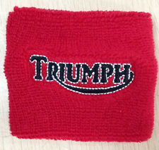 TRIUMPH RESERVOIR COVER WRISTBAND SOCK RED TRIUMPH BONNEVILLE TIGER ROCKET 675