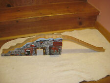 Wooden Rock Crusher Mountain Track for Thomas Train Wooden Railway