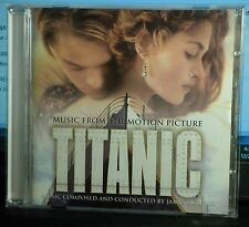 TITANIC Music from the Motion Picture '97 CD James Horner + Celine Dion