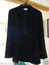 Ladies Black Etam Suit Jacket Size 14 in excellent condition