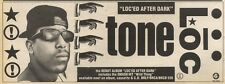 18/3/89Pgn37 Advert: 'loc'ed After Dark' The Debut Album From Tone Loc 4x11