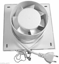 "4""100mm Bathroom Extractor Fan Kitchen Exhaust fan Ventilating fan 220V CE White"